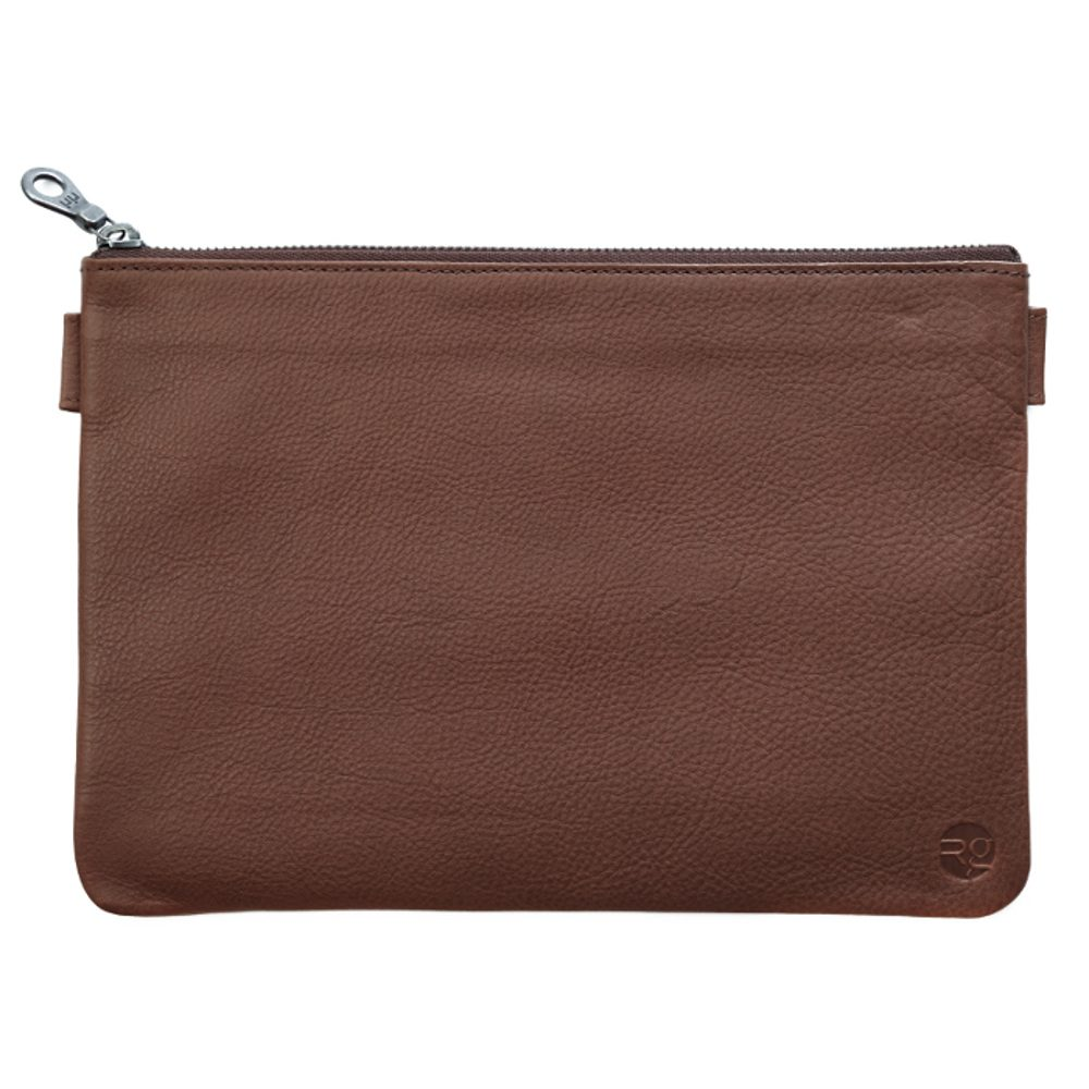 Tan Travel Pouch
