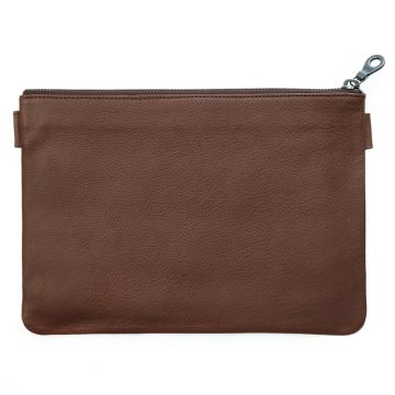 Tan Travel Pouch 2