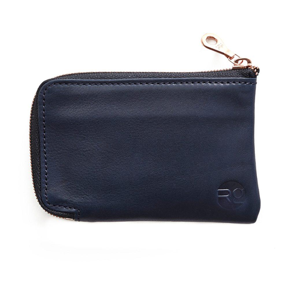 Navy Day Zip Wallet
