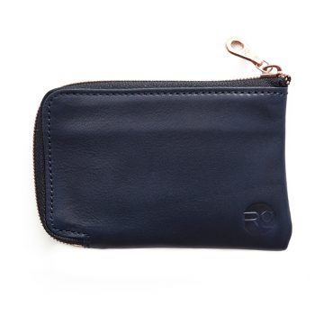 Navy Day Zip Wallet