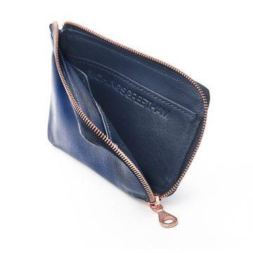 Navy Day Zip Wallet 3