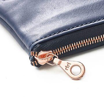 Navy Day Zip Wallet 4