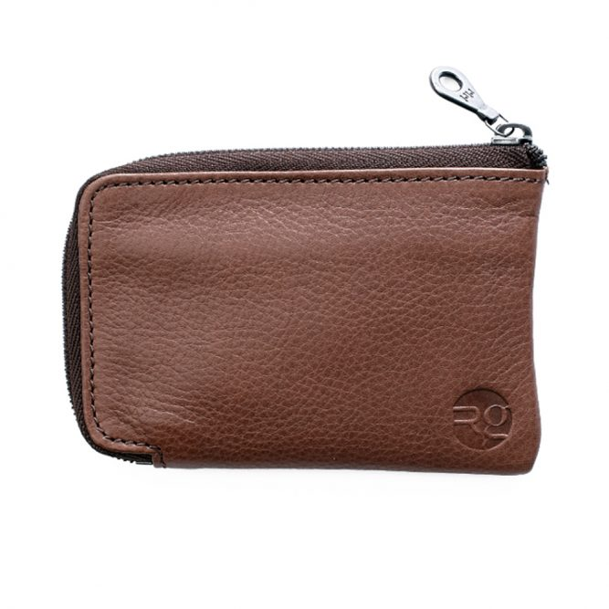 Tan Day Zip Wallet