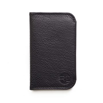 Black Night Out Card Holder