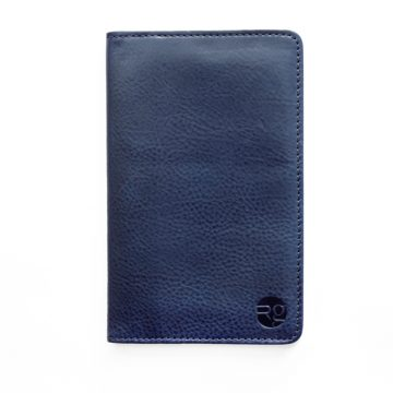 Navy Notebook & Passport Holder