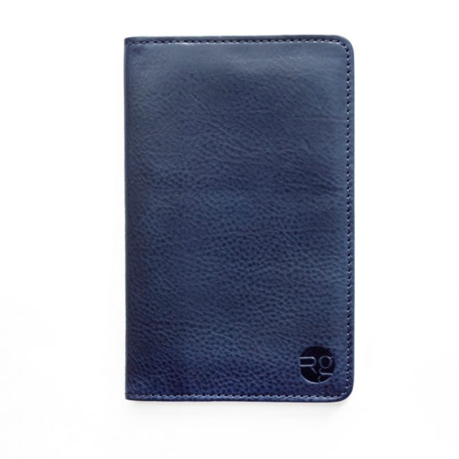 Navy Notebook & Passport Holder