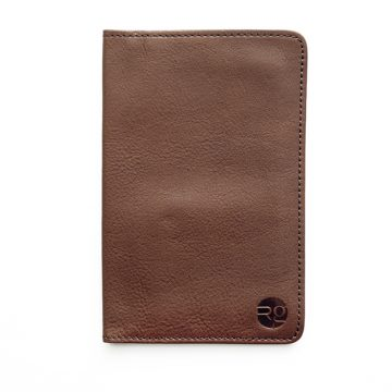 Tan Notebook & Passport Holder
