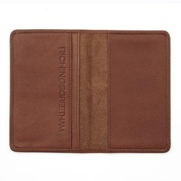 Tan Notebook & Passport Holder 2
