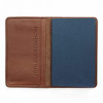 Tan Notebook & Passport Holder 3