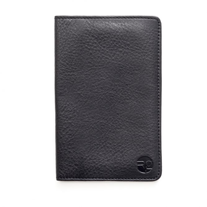 Black Notebook & Passport Holder