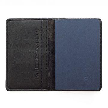 Black Notebook & Passport Holder 3