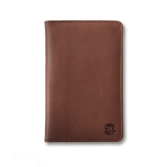 RichingsGreetham Tan Leather Notebook & Passport Holder - RG1004.02