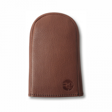 richings greetham tan key pouch