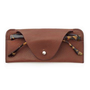 Soft Glasses Case Tan