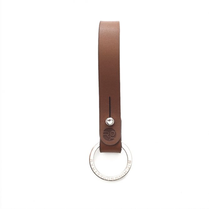 Tan Loop Keyring