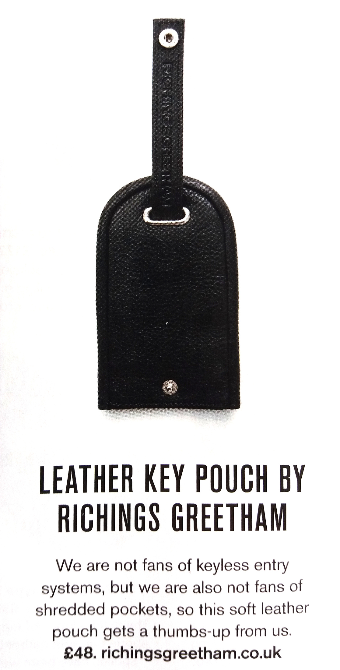 Octane RichingsGreetham Key Pouch