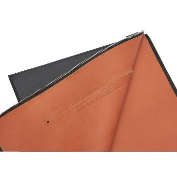 Black Folio Laptop Sleeve Open