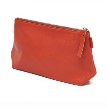 Orange-Cosmetics-Pouch-Small-Washbag-Back