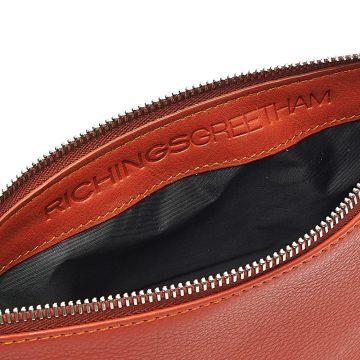 Orange-Cosmetics-Pouch-Small-Washbag-Inside