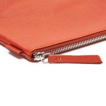 Orange-Cosmetics-Pouch-Small-Washbag-Zip