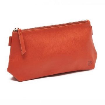 Orange Cosmetics Pouch Small Washbag