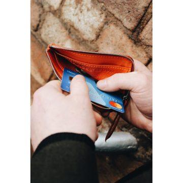 Orange Day Zip Wallet Lifestyle