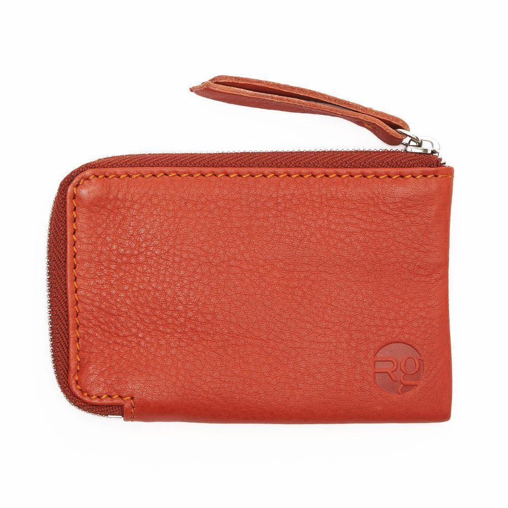 Orange Day Zip Wallets