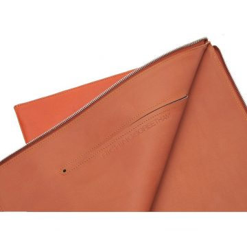 Orange Folio Laptop Sleeve Open