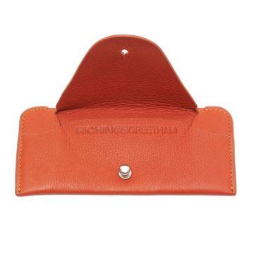 Orange Soft Glasses Case Open
