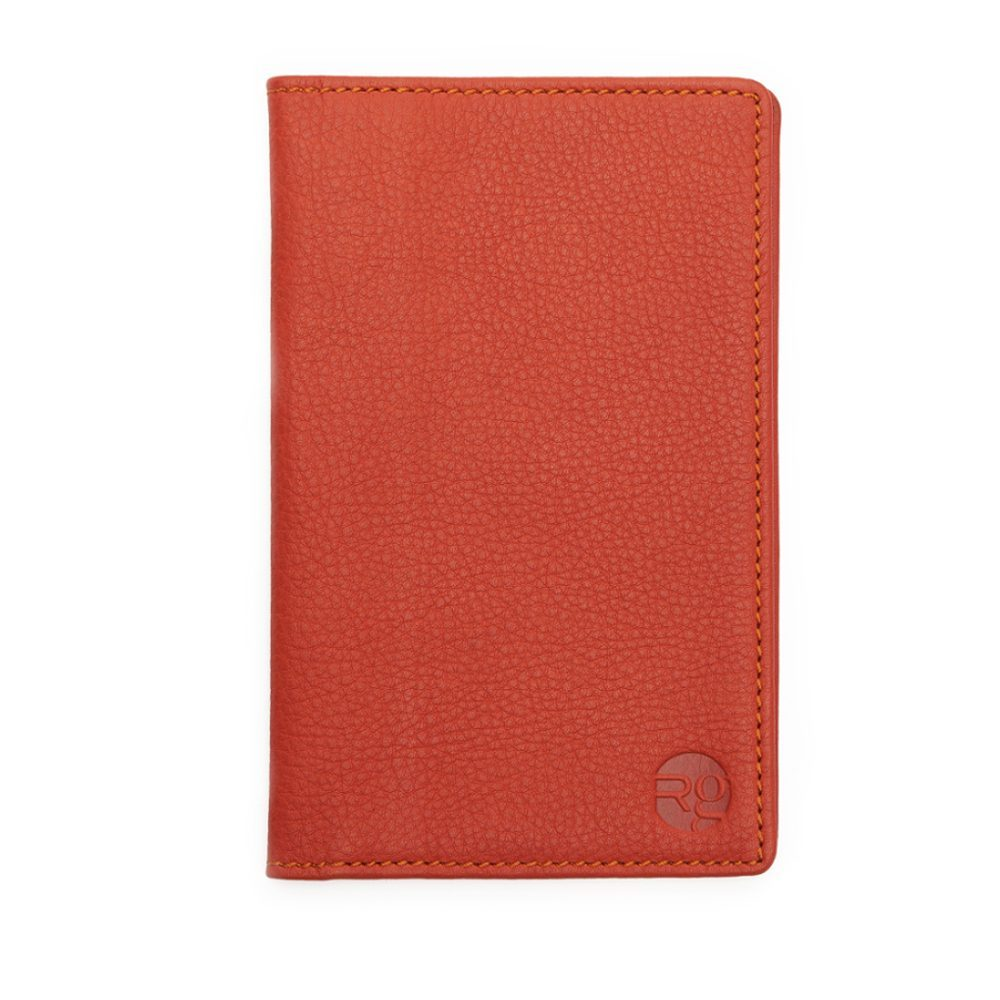 Orange Note Book And Passport Holder Update
