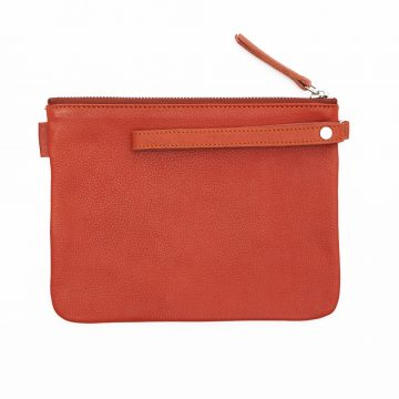 Orange-Pouch-With-Strap-Back