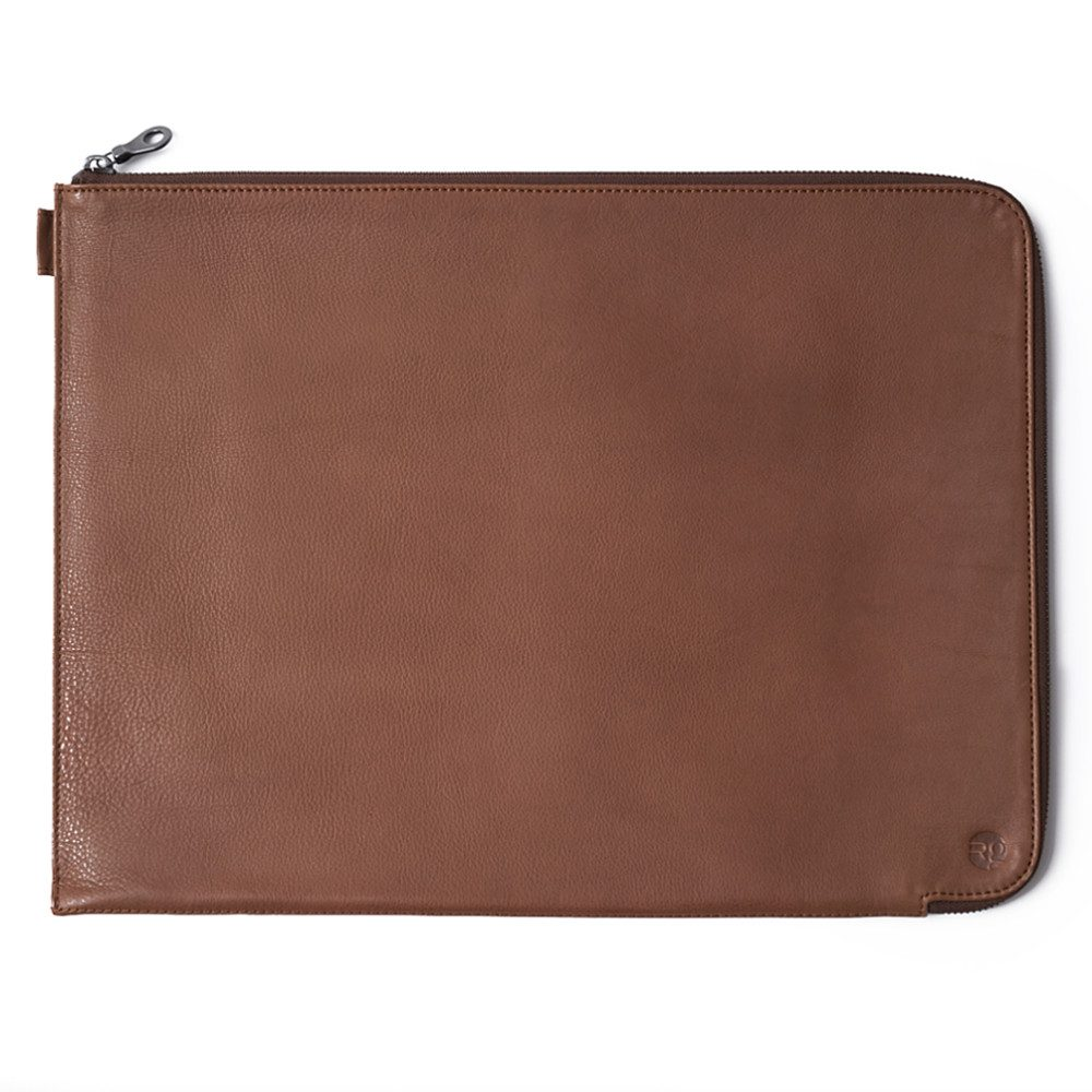 Tan-Folio-Laptop-Sleeve-Front