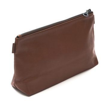 Tan Washbag Back
