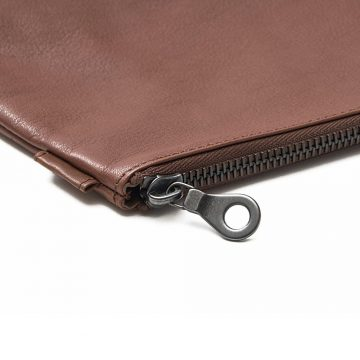 Tan Washbag Zip