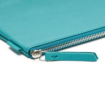 Teal Cosmetics Pouch Small Washbag Zip
