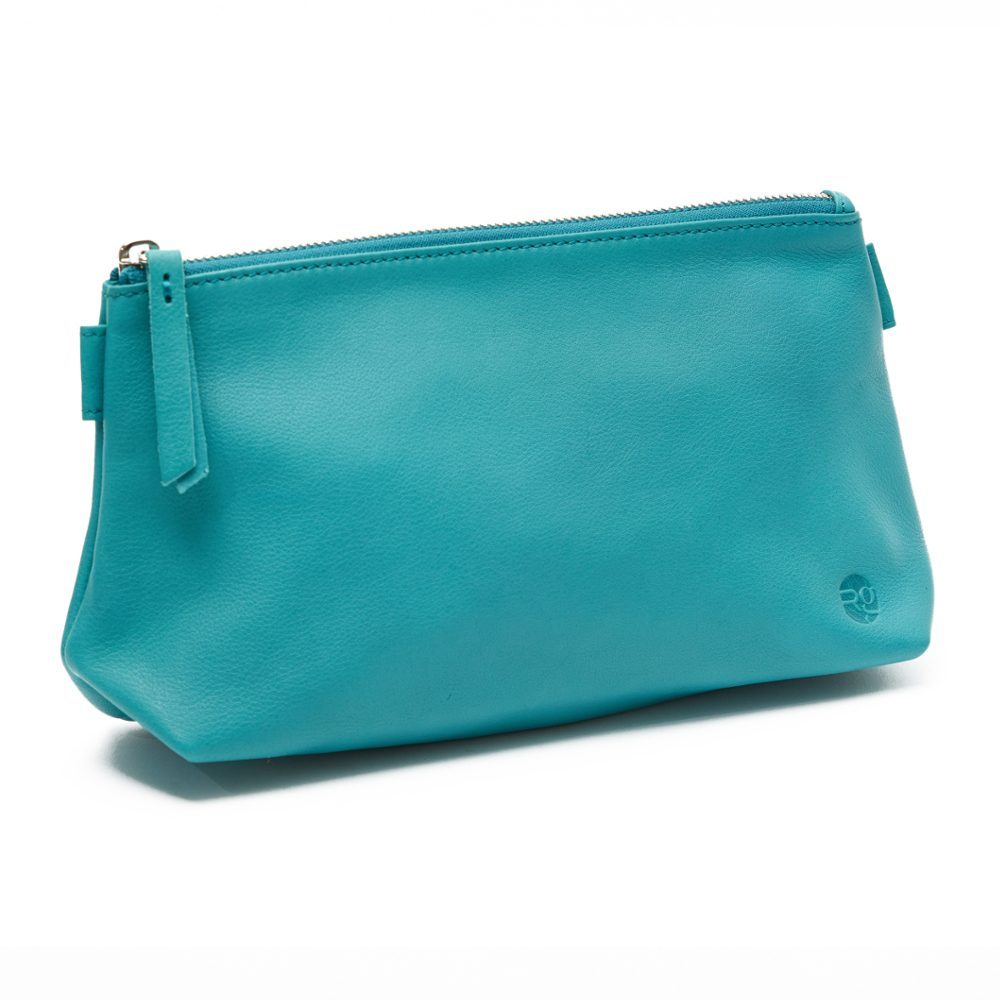 Teal Cosmetics Pouch Small Washbag