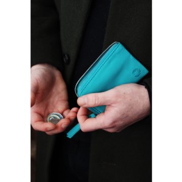 Teal Day Zip Wallet Lifestyle