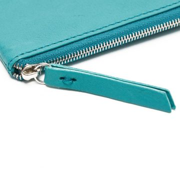 Teal Day Zip Wallet Zip
