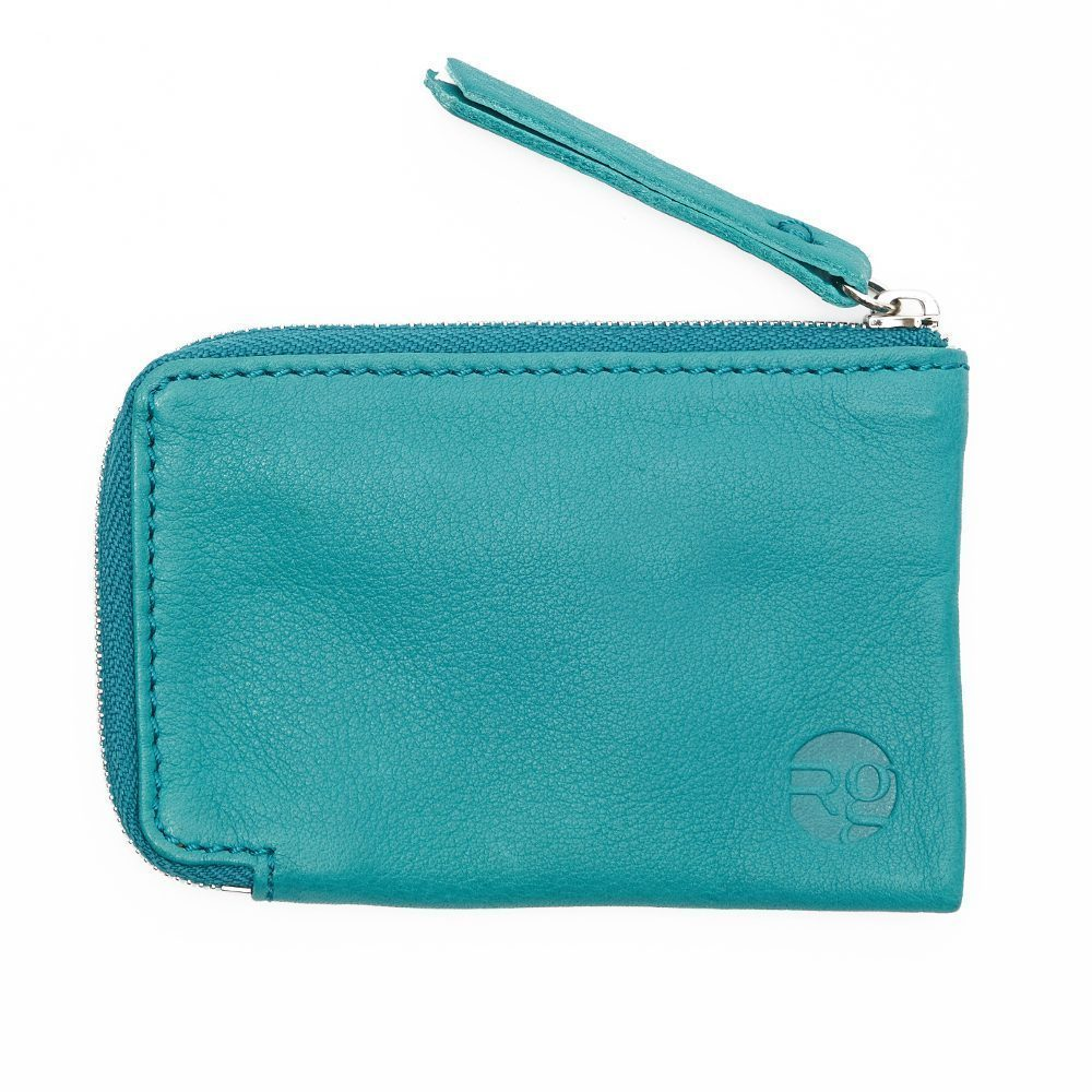 Teal Day Zip Wallets