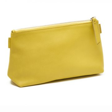Yellow-Cosmetics-Pouch-Small-Washbag-Back