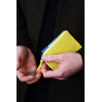 Yellow Day Zip Wallet Lifestyle