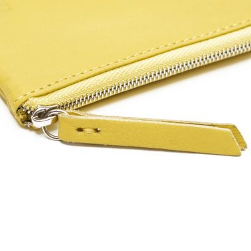 Yellow Day Zip Wallet Zip