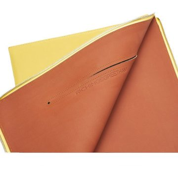 Yellow Folio Laptop Sleeve Open