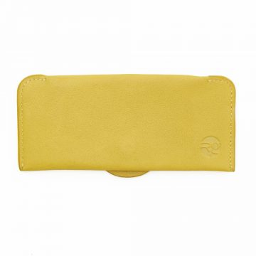 Yellow Soft Glasses Case Back
