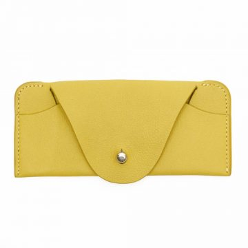 Yellow Soft Glasses Case Front