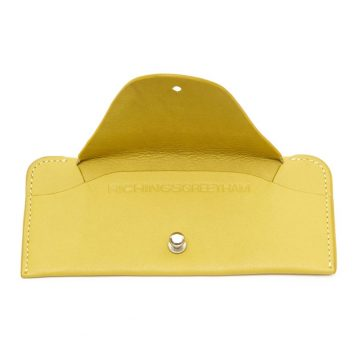 Yellow Soft Glasses Case Open
