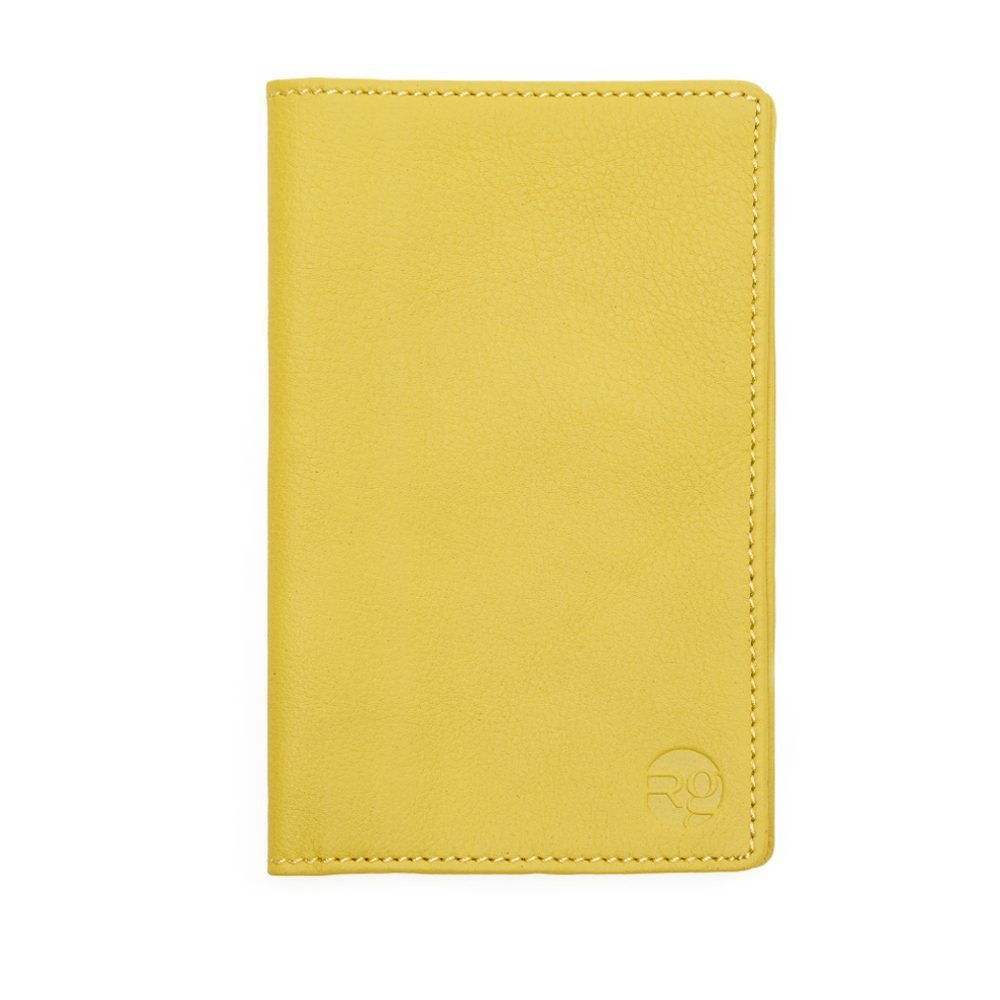 Yellow Note Book And Passport Holder Update