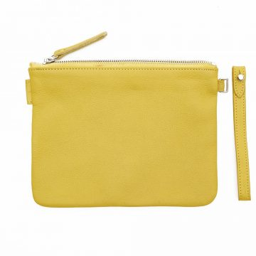 Yellow-Pouch-With-Strap-Back-2