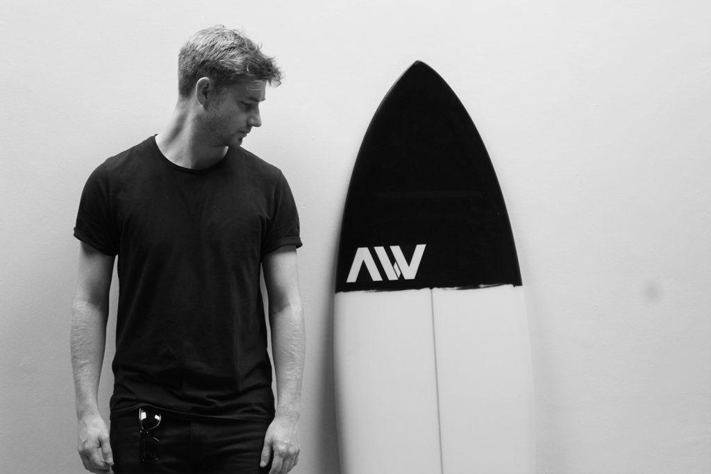 Josh Moffat Designer, Airwave Surfboards 2